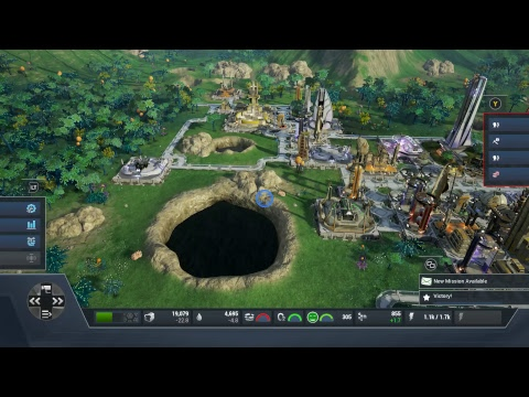 Aven Colony Gameplay idle for 300 colonist  