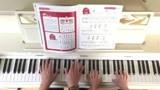 Demonstration of a WunderKeys Piano for Preschoolers Duet