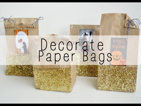 How to: Decorate Paper Bags