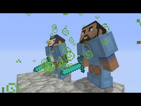 Minecraft Xbox - Battle of The Poles -  2v2 Team SkyWars