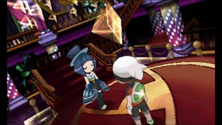 Pokemon Omega Ruby/Alpha Sapphire - Battle Chatelaine Evelyn - Battle Maison (Super Double Battle)