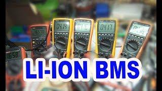 li ion аккумуляторы для LED подсветки, BMS