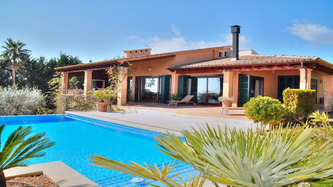 Casa de campo moderna con vistas al mar cerca de porto - Casa de campo mallorca ...