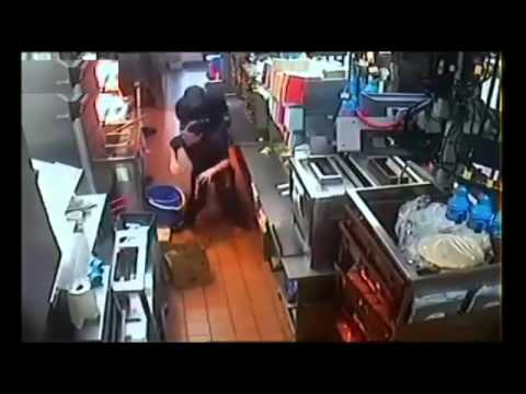 Brutal Video Shows McDonald's Worker Falling In Bucket Of Hot Oil