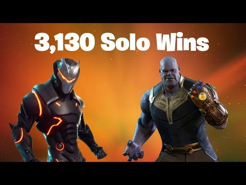 #1 World Record 3,138 Solo Wins | Fortnite Live Stream | Thanos Marvel Infinity War