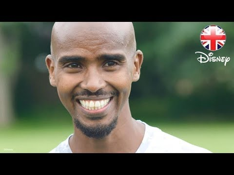 DISNEY HEALTHY LIVING | Go Like Mo Farah - Join The 24 HOUR CHALLENGE! | Official Disney UK