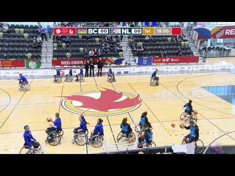 2019 CWG - Wheelchair Basketball - Game 12 - BC Vs NL