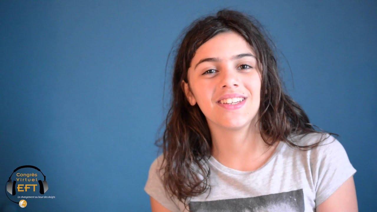 Tosca, 12 ans 3/4, fait de l'EFT avec ses copines...