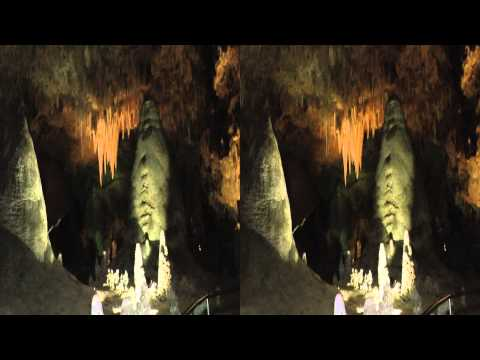Carlsbad Caverns: A walking Tour in 3D