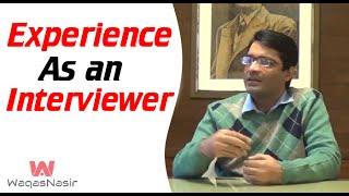 Interviewing People: My Research Experience -By SP Umar Riaz | In Urdu