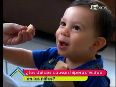 ¿Los dulces causan hiperactividad en los niños?