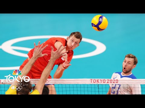 ROC sinks defending Olympic champion Brazil, earns chance to play for gold in Tokyo  NBC Sports