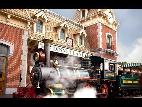 [FULL TRIP / NO EDITS] Taking a Grand Circle Tour on the Disneyland Railroad 2-16-2018