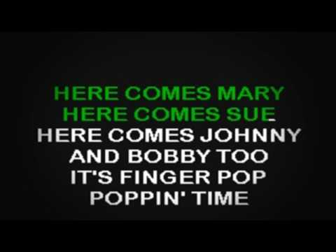 SC2112 01   Ballard, Hank & Midnighters   Finger Poppin' Time [karaoke]