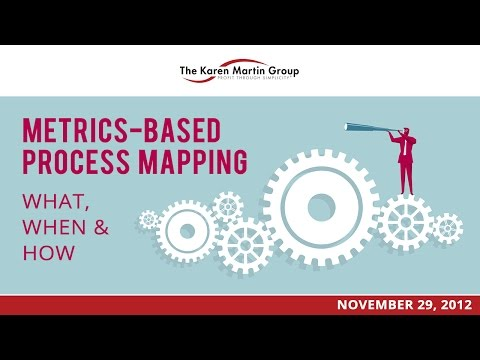 Metrics-Based Process Mapping: What, When, and How