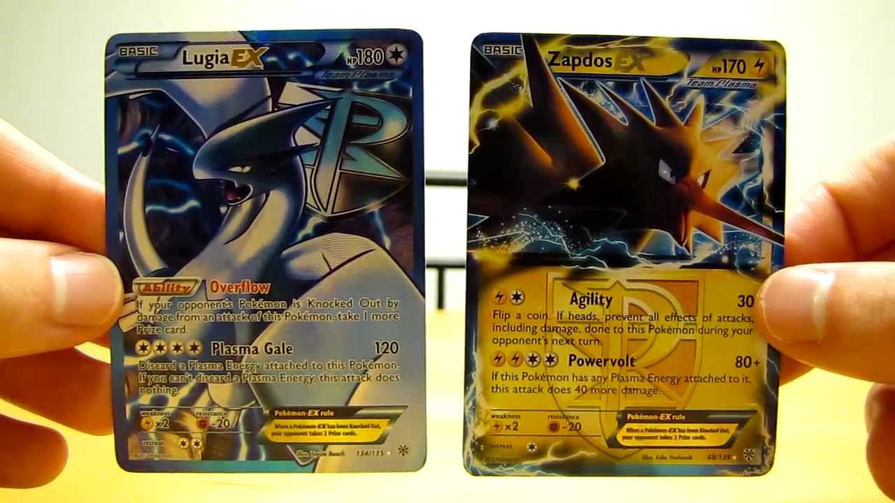 Rare Pokemon Cards: EX and EX FULL ART - YouTube