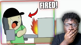 GETTING FIRED! | TheOdd1sOut: Work Stories (sooubway) Reaction!