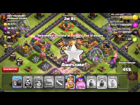 Clash of Clans - Quest to 4000 Trophies #5: Lucky Lightning