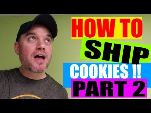 How to start a food Business Series : How to ship cookies part 2 how to box them with no breaking