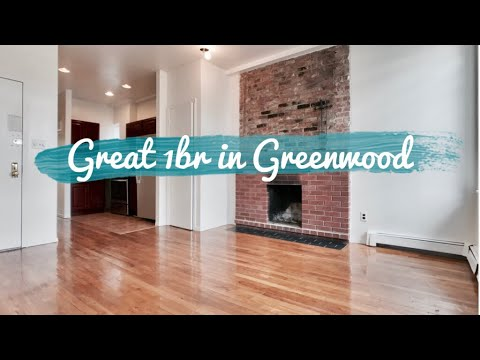 Great 1 Bedroom Apartment with working fireplace 🔥☕️  in Greenwood Heights Brooklyn NYC 📽