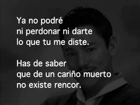 Cenizas - Javier Solís