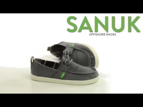 Sanuk Offshore Shoes - Lace-Ups (For Big Boys)