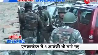 Security forces kill 5 terrorists in Jammu  Kashmirs Kupwara encounter ends after 48 hours