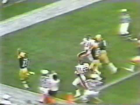 Chester Marcol Touchdown Packers Bears September 7, 1980