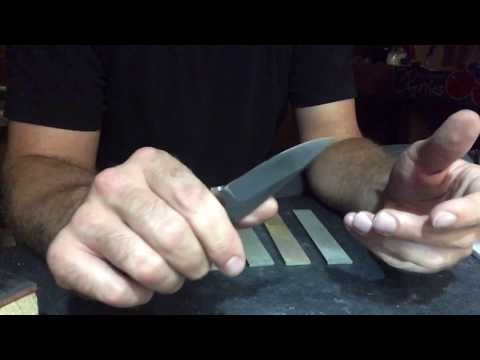 Metallic Bonded Diamond Sharpening Stones from Practical Sharpening - sharpening Rex 121