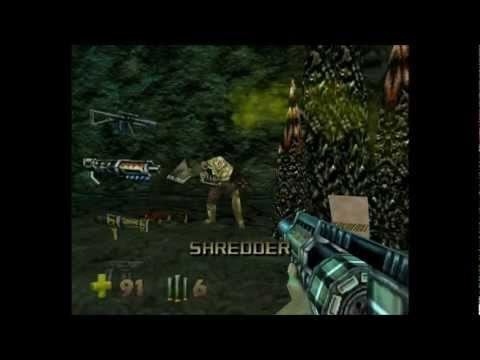 Turok 2 - Seeds of Evil: Level 4 - Lair of the Blind Ones [H