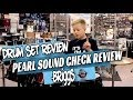 Kids Drum Set review Pearl Sound Check