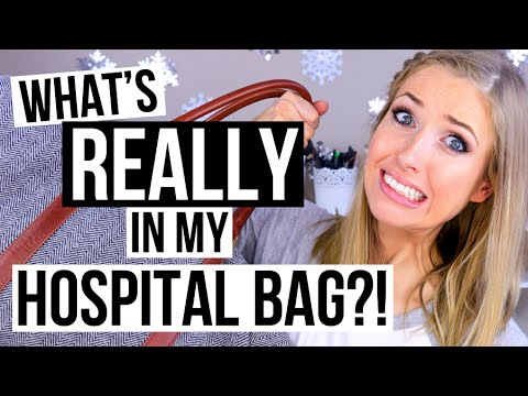 What's REALLY in my Hospital Bag for Labour & Delivery!