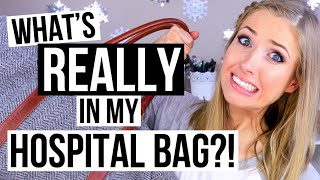 What's REALLY in my Hospital Bag for Labour & Delivery!(My must-haves for you and your baby for labour and delivery! Subscribe: http://bit.ly/SubRachhLovesLife Latest Video: BUSINESS INQUIRIES ..., 2016-01-31T21:43:11.000Z)