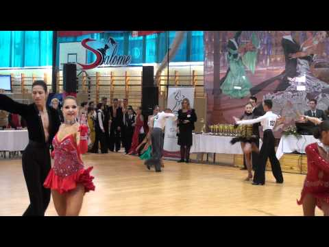 MIKE & ROXY - HAJDU CUP 2011 - IDSF OPEN YOUTH LATIN - QUARTER FINAL - P1