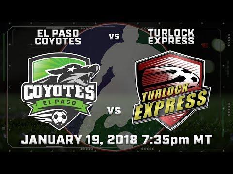 El Paso Coyotes vs Turlock Express