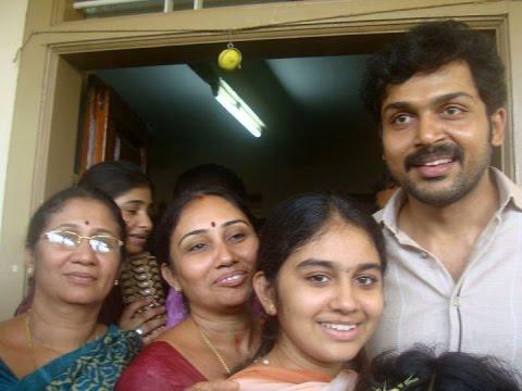 Karthi wife Ranjini Chinnaswamy and Family - YouTube