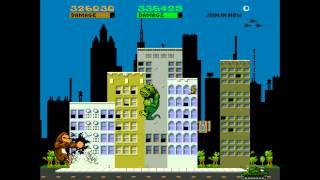 RAMPAGE (Arcade) co-op