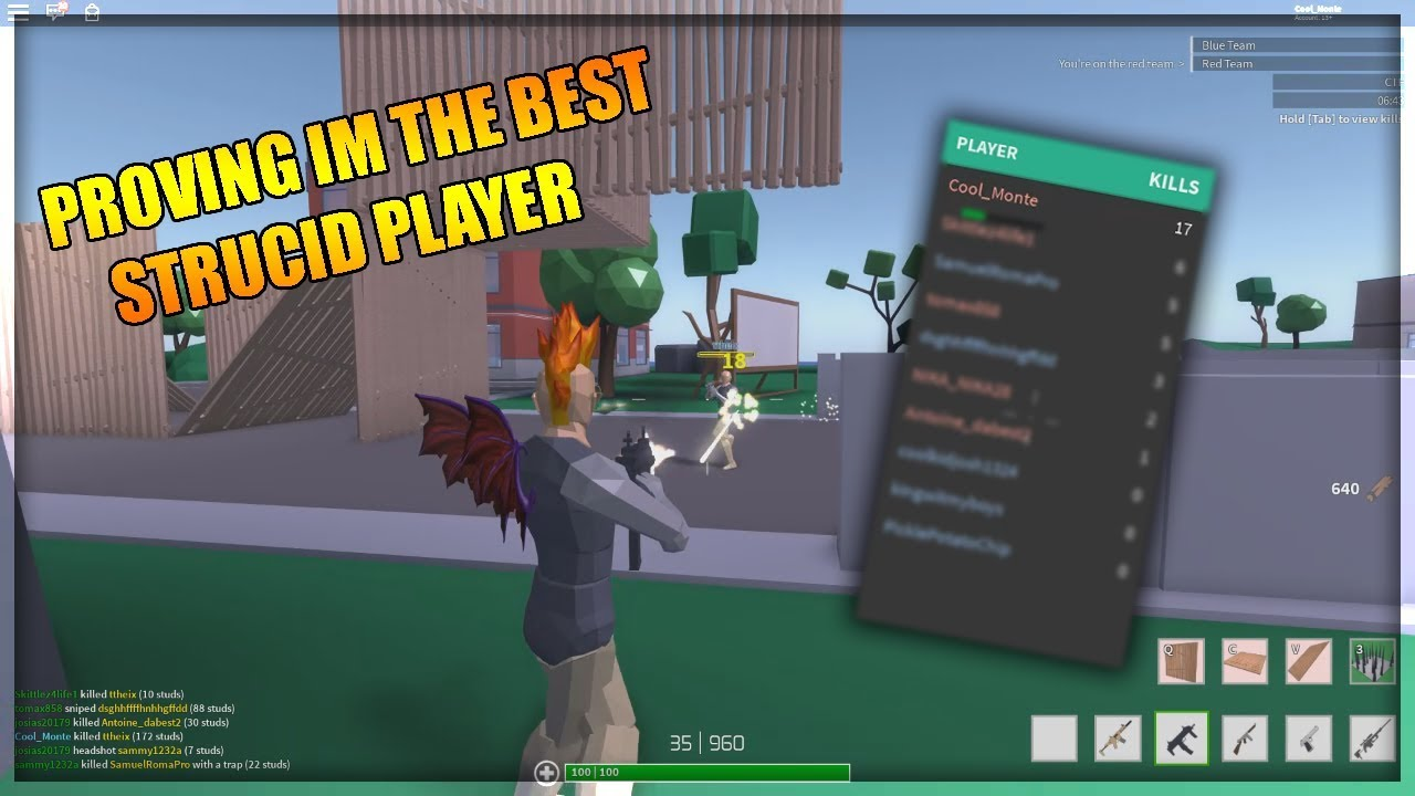 PROVING IM THE BEST STRUCID PLAYER ON THE GAME - ROBLOX ...