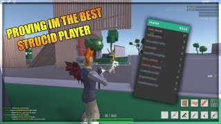 PROVING IM THE BEST STRUCID PLAYER ON THE GAME - ROBLOX Strucid CTF Gameplay