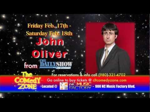 John Oliver @ Charlotte Comedy Zone - February 17th & 18th
