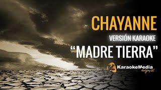 """Chayanne - """"Oye"""" Madre Tierra (Karaoke)"""