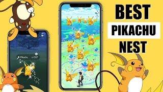best shiny nest coordinates pokemon go