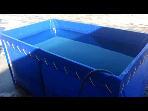 Разборная емкость для воды АкваКуб на 2000л