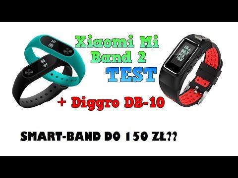 Xiaomi Mi Band 2 Test w Praktyce + Jego Alternatywa Diggro DB-10
