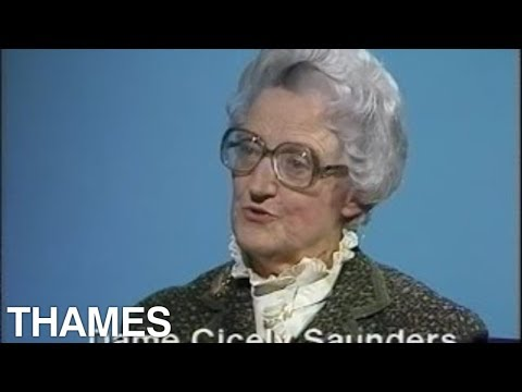 dame cicely saunders thames television 1983