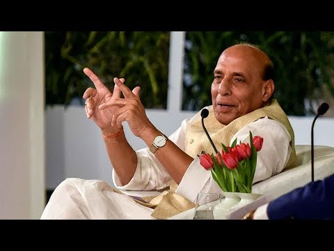 Rajnath Singh full interview at HTLS 2018