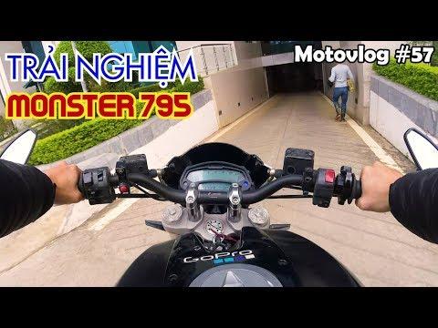 Cảm nhận Ducati Monster 795 - Moto cho người bắt đầu chơi PKL | Motovlog 57