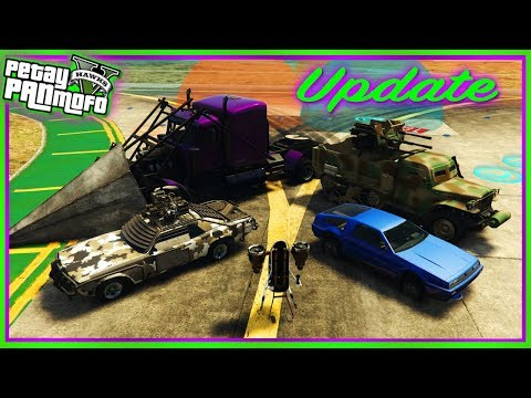 GTA Online Creator Update - Combat n Race Creator Updates, New Options, Vehicles, Props n More Added