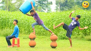New Top Funny Comedy Video 2020__Very Funny Stupid Boys__Episode-126--Indian Fun || ME Tv