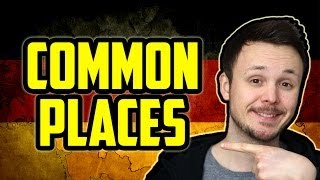 Common Places in Towns and Cities | Learn German for Beginners | Lesson 11